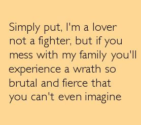 Dont mess with my family: Quotes Inspiration, Inspiration Boards, My ...