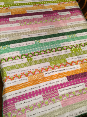 autograph quote strip quilt we will create an original strip quilt ...