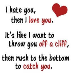 Hate You Quotes & Sayings