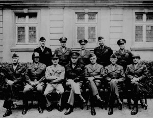 , Jr., Carl Spaatz, Dwight D. Eisenhower, Omar Bradley, Courtney H ...