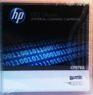 C7978A HP Ultrium LTO Universal Cleaning Cartridge Tape US 58 piece