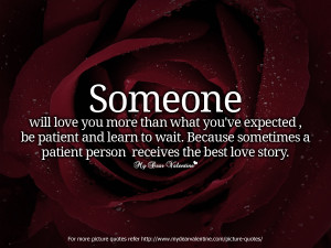 TRUE LOVE And PATIENCE &10047