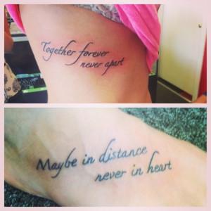 Cousin love tattoo