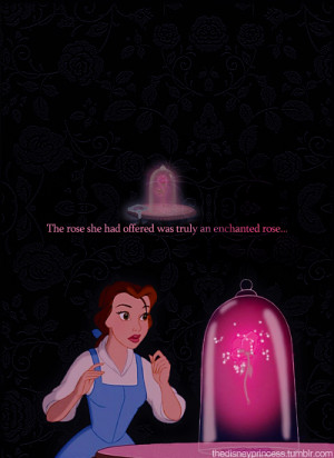 Beauty And The Beast Quotes About The Rose