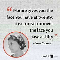 We live by this quote. Age amazingly by using quality skincare and ...