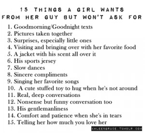 ... , girl, life, list, little things, love, relationship, text, wishlist