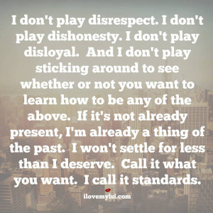Quotes About Dishonesty And Disrespect ~ disrespect Archives - I Love ...
