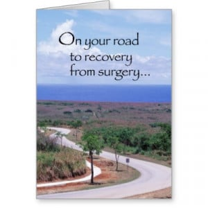 Get Well Card After Surgery