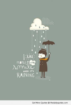 Rain Rain Go Away…