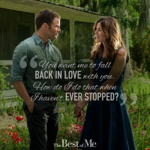 The best of me- nicholas sparks