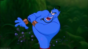 ... character of Genie in Disney's classic 1992 animated film Aladdin
