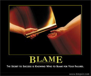 Easy out! It's always easier to blame others (parents, authorities ...