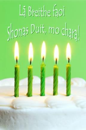 Irish Birthday Wish Image