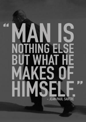 ... Sartre's Existentialism: