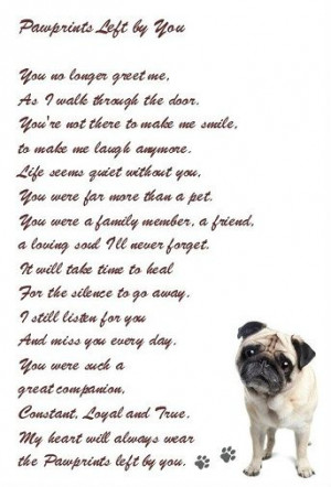 ... beautiful sentiment Favorite Quotes. Loss of a beloved pet