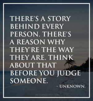 someone s life quotes clever quotes judges someone love life quotes ...