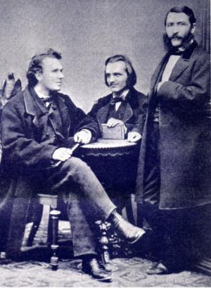 Carl Spitteler w hrend seines Aufenthaltes 1885 in Luzern Von links