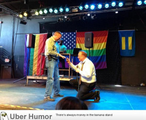 Utah Senator proposing to his boyfriend