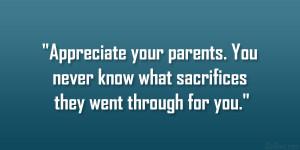 Love Your Parents Quotes Love Your Parents Quotes