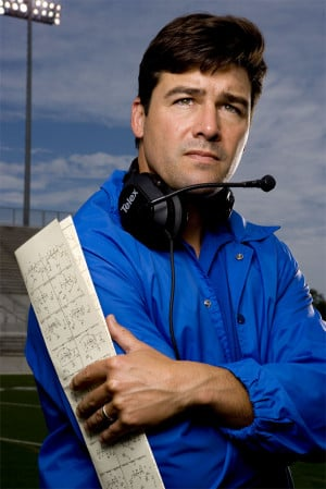 Kyle Chandler stars as Eric Taylor in Friday Night Lights on NBC.