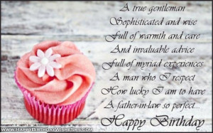 ... for father in law – Happy Birthday Father Quotes, Message Pictures