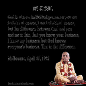 Srila Prabhupada Quotes For...