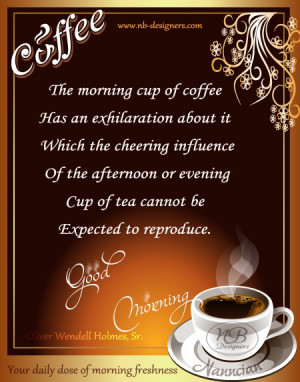 Good Morning Coffee - Your Daily Dose of Morning Freshness *~