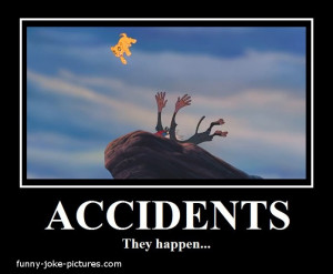 Funny Lion King Accident Cartoon Meme Picture Image - Accidents They ...