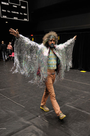 Wayne Coyne Wayne Coyne of The Flaming Lips backstage at the Amnesty