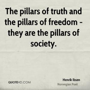 Henrik Ibsen Society Quotes