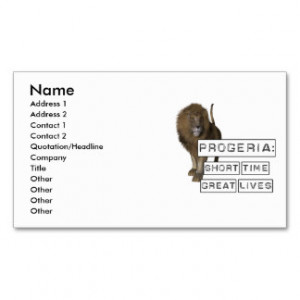Short Quotes And Sayings Business Cards
