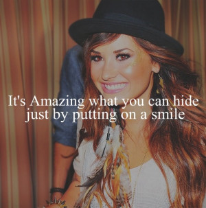 Demi Lovato Quotes About Cutting