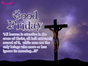 Poetry: Good Friday Quotes and Sayings with Wallpapers