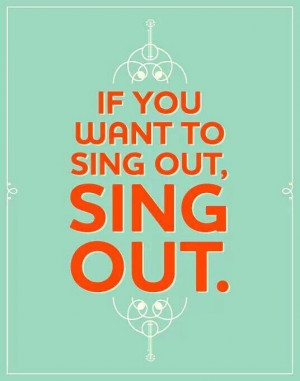 Keep calm n sing out loud