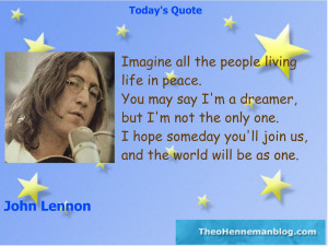 John Lennon Quotes When I Was 5 John lennon: imagine