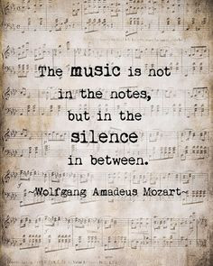 Music Quote Musical Notes Vintage Style Sepia Natural For the Musician ...