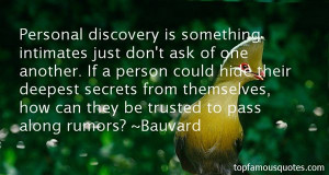 Top Quotes About Deepest Trust