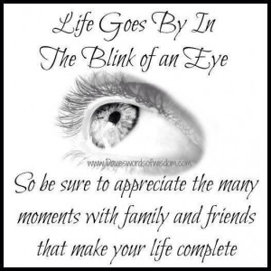 Life goes by...