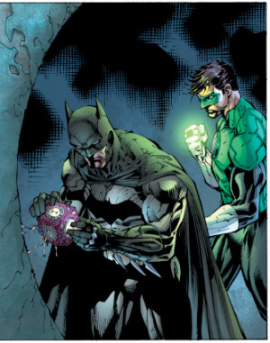 demonsee:Batman and Green Lantern from Justice League #1