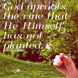 St. Vincent de Paul] #quotes