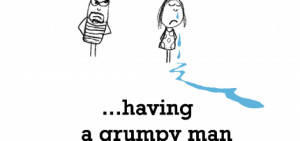 Grumpy People Quotes Sadness is, having a grumpy
