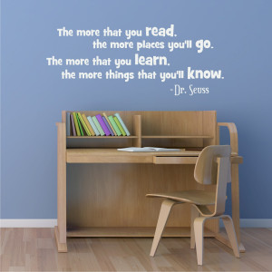 Read Dr. Seuss Wall Quotes™ Decal