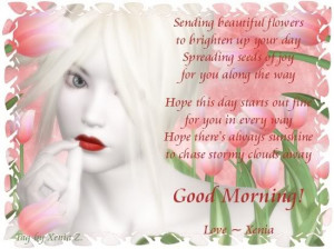 Good morning greetings, good morning poems, good morning wishes