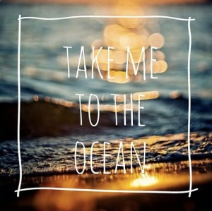 take me to the ocean #summer #quotes +++For more quotes like this ...