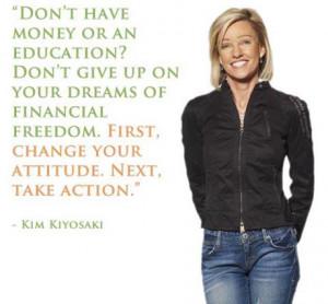 Kim Kiyosaki Picture Quote