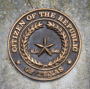 Republic of Texas Citizen Medallion