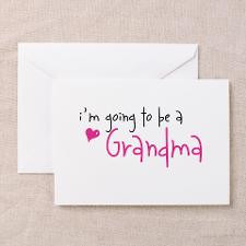 going to be a Grandma Greeting Cards (Package for