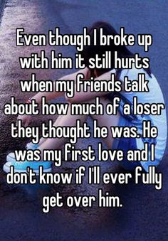 Get Over Him Quotes Ever fully get over him.