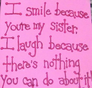 You're My Sister: You're My Sister ~ Family Inspiration