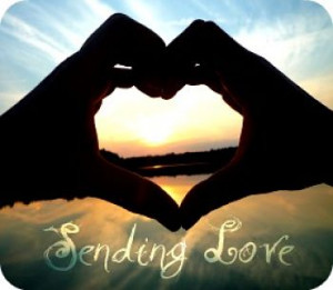 "Sending Love "" ~ Sympathy Quote"
